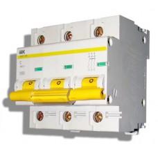 Автоматический выключатель ВА 47-100 3Р 80А 10 кА х-ка С ИЭК