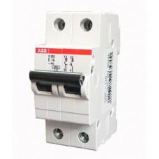 Автоматический выключатель 2Р S202 C6